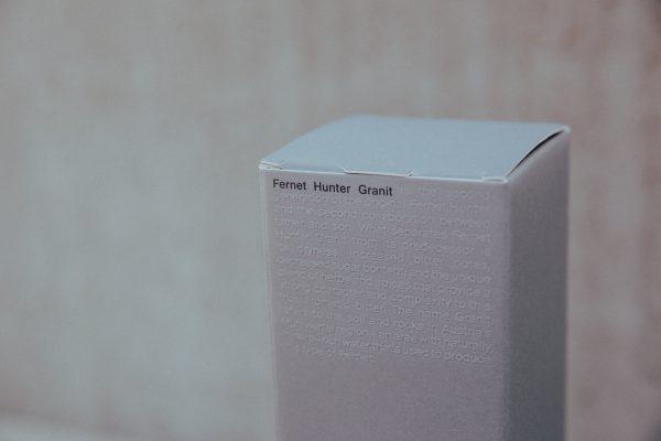 Fernet Hunter Granit Packaging