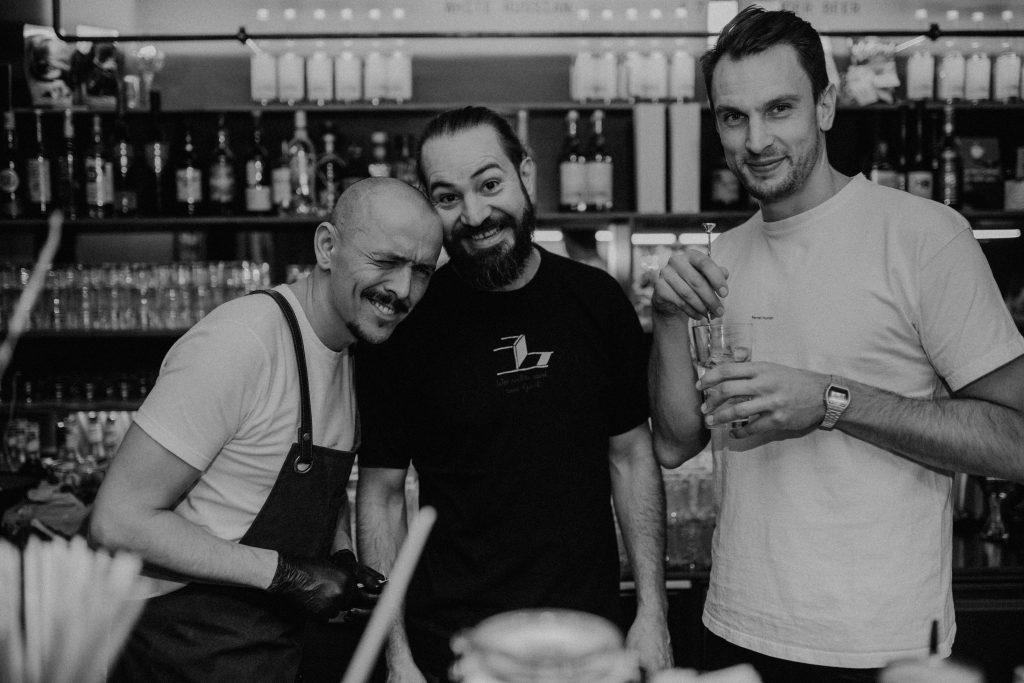 Fernet Hunter Bar Takeover Mezzanin Linz