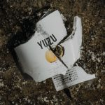 Zerbrochene Kimino Yuzu Flasche