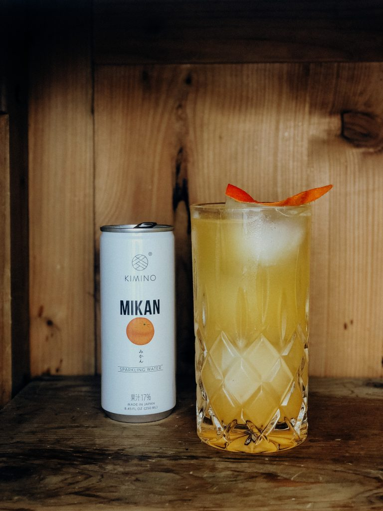 Cocktail mit Fernet Hunter und Kimino