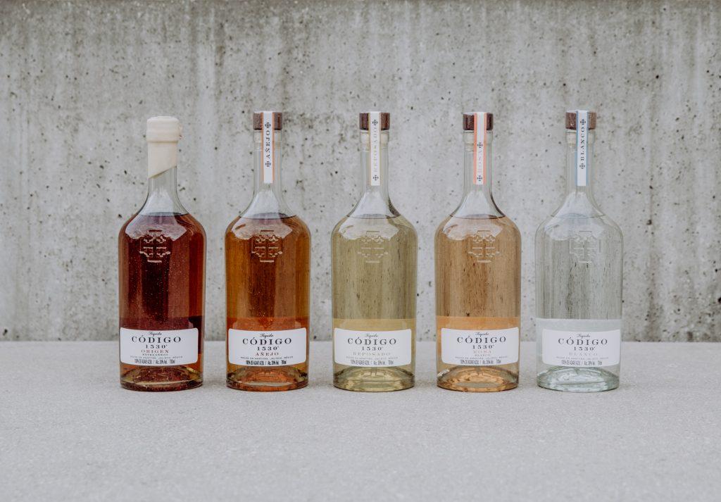 Tequila Codigo 1530 Bottles